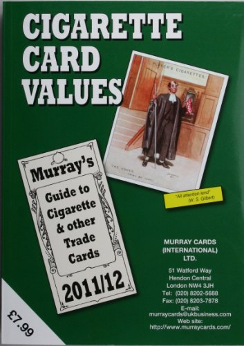 Cigarette Card Values 2011 12: Murray Cards