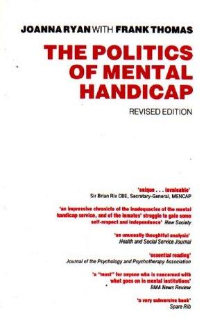 9780946960927: The Politics of Mental Handicap