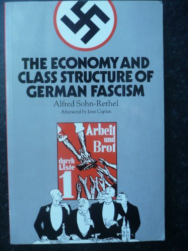 9780946960941: Economy and Class Structure of German Fascism