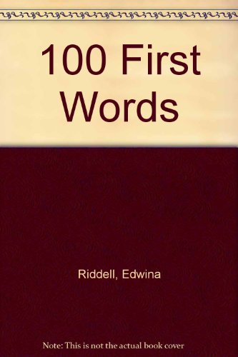 9780946962808: 100 First Words