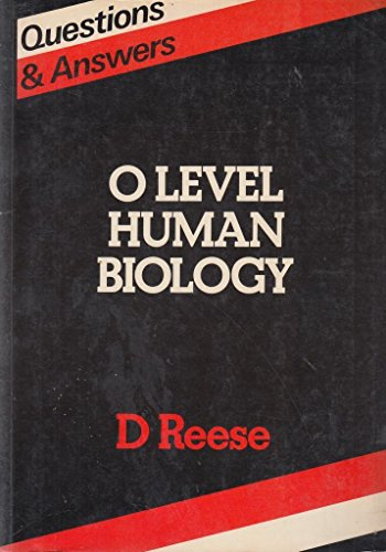9780946973262: Questions and Answers in Ordinary Level Human Biology (Questions & Answers)