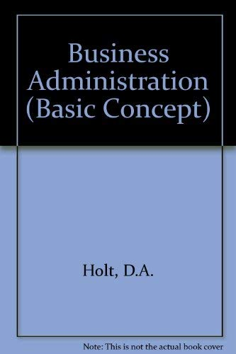 Business Administration (Basic Concept)