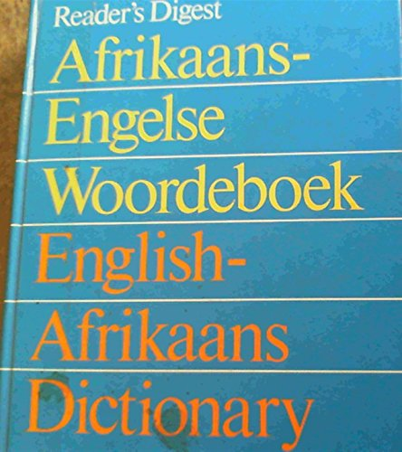 English/Afrikaans Dictionary (English and Afrikaans Edition): Reader's Digest