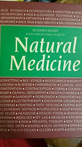 Family Guides: Natural Medicine: Reader's Digest