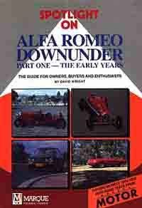 Spotlight on Alfa Romeo Downunder Part One-The Early Years