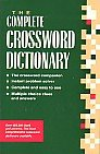 The Complete Crossword Dictionary (Paperback): Ursula Harringman