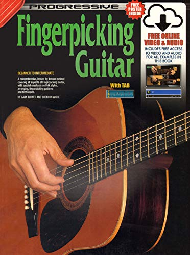 Progressive Fingerpicking Guitar: For Beginner to Advanced: Turner, Gary &