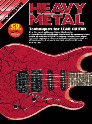 9780947183158: Progressive Heavy Metal Techniques for Lead Guitar