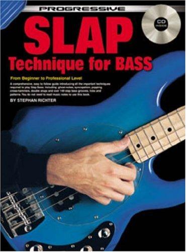 9780947183165: CP18316 - Progressive Slap Technique for Bass