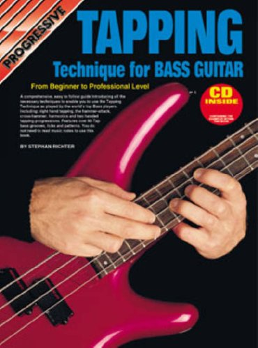 9780947183172: CP18317 - Progressive Tapping Technique for Bass