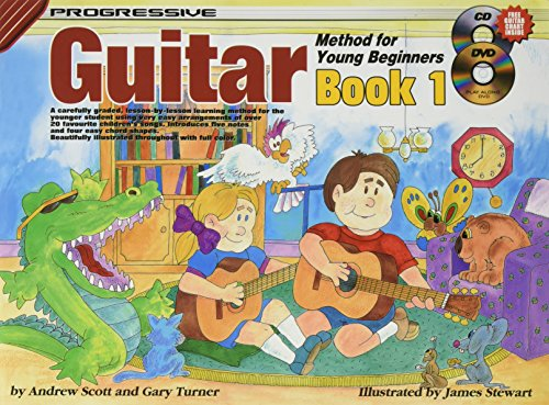 9780947183226: Progressive Guitar Method for Young Beginners: Book 1