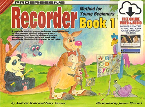 9780947183370: CP18337 - Progressive Recorder Method for Young Beginners: Book 1 (Colour) (Progressive Young Beginners)