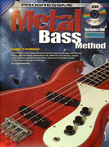 9780947183646: Heavy Metal Method for Bass Guitar: For Beginners to Intermediate (Progressive)