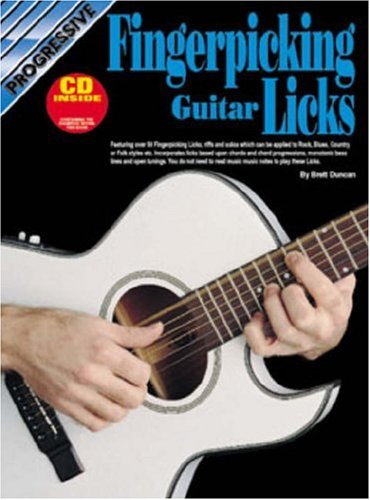9780947183707: CP18370 - Progressive Fingerpicking Guitar Licks
