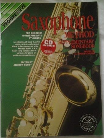 9780947183769: Saxophone Method Supplementary Songbook a: With CD (Progressive)