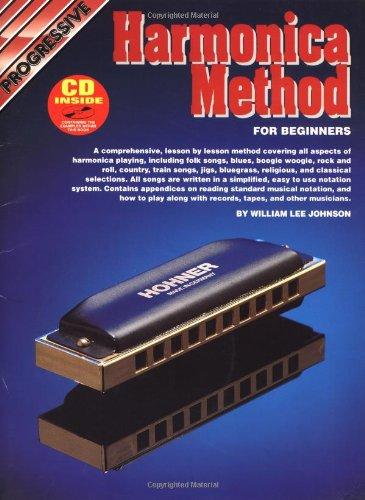 CP18384 - Progressive Harmonica Method: William Lee Johnson