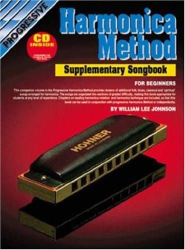 Progressive Harmonica Method Song Book: William Lee Johnson
