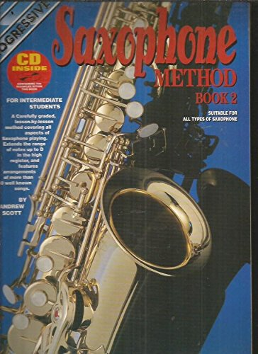 9780947183905: Saxophone Method Book 2; With CD (For Alto Sax)