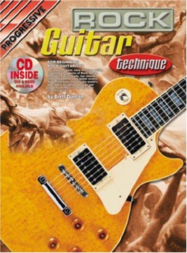 9780947183912: Progressive Rock Guitar Technique