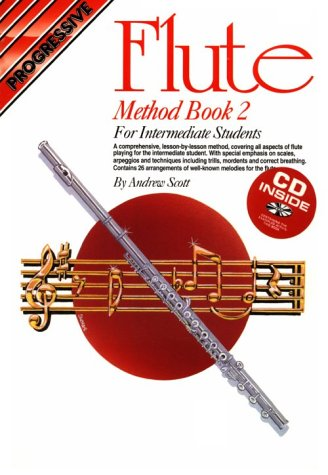 9780947183998: Flute Method Book 2 with CD (Audio)