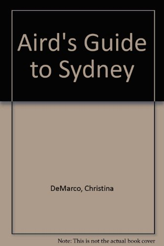 9780947214104: Aird's Guide to Sydney
