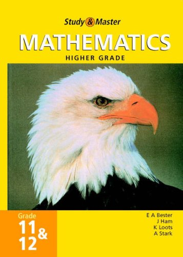 9780947465537: Study and Master Mathematics Grade 11 and 12 HG (Study & Master)