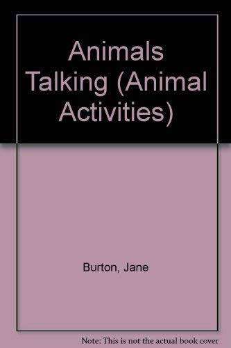 Animals Talking (Animal Activities): Jane Burton