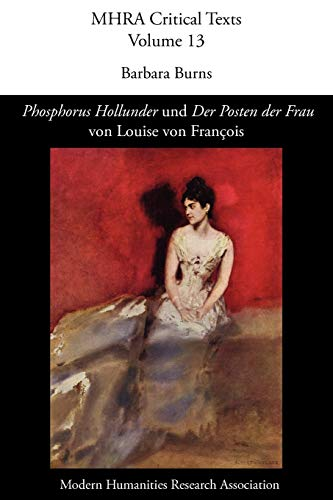 Phosphorus Hollunder' Und 'Der Posten Der Frau' Von Louise Von Fran OIS (Mhra ...