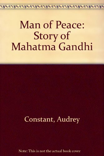 9780947639686: Man of Peace: Story of Mahatma Gandhi