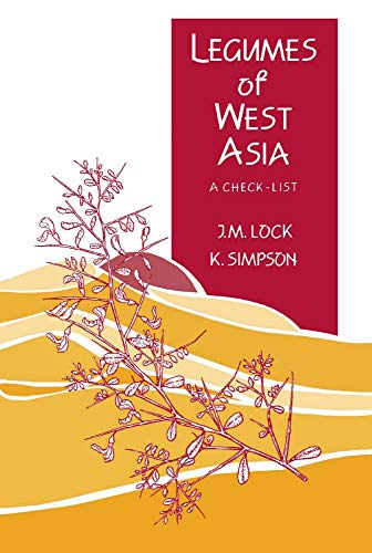 9780947643294: Legumes of West Asia: a checklist