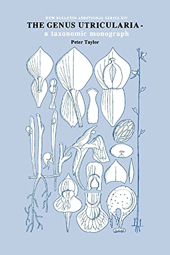 9780947643720: Genus Utricularia: a taxonomic monograph (Kew Bulletin Additional S)