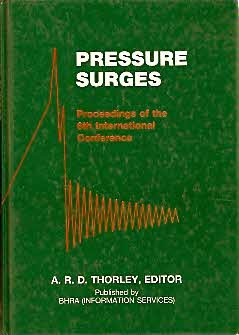 9780947711795: Pressure Surges: 6th: International Conference Proceedings