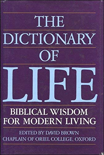 9780947752170: S&J;Dictionary Of Life: Bible Wisdom for Everyday Living