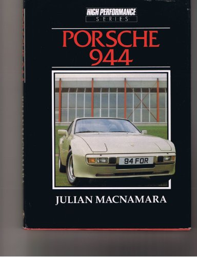 Porsche 944 (High performance series): MacNamara, Julian: