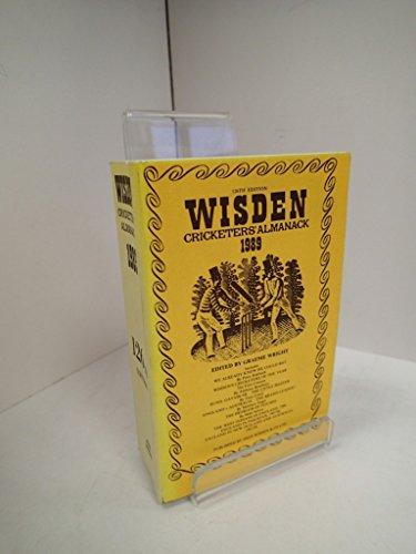 Wisden Cricketers' Almanack, 1989 (126th Edition): Wright, Graeme (ed.)
