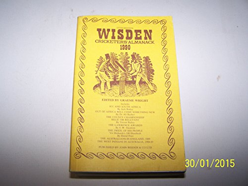 9780947766153: Wisden Cricketers' Almanack, 1990 (127th Edition)