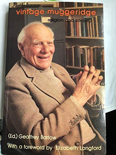 9780947785079: Vintage Muggeridge: Religion and Society