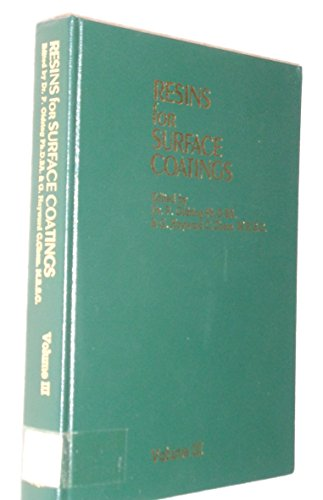 9780947798062: Resins for Surface Coatings, Volume 3
