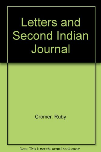 9780947828387: Letters and 2nd Indian Journal, 1886-1961