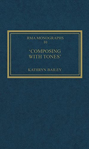 9780947854096: 'Composing with Tones': A Musical Analysis of Schoenberg's Op.23 Pieces for Piano (Royal Musical Association Monographs)