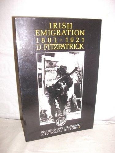 9780947897000: Irish Emigration 1801-1921