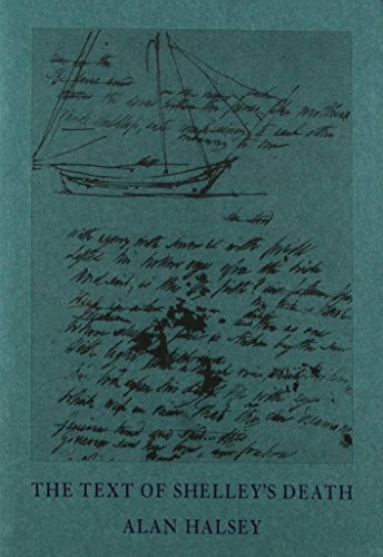 9780947960049: The Text of Shelley's Death (Limited Edition)