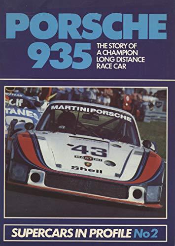9780947973001: Porsche 935 (Supercars in profile)
