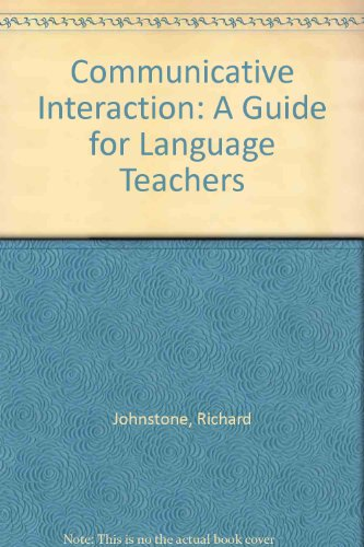 9780948003080: Communicative Interaction: Guide for Language Teachers