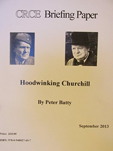 9780948027697: Hoodwinking Churchill (Briefing Papers)