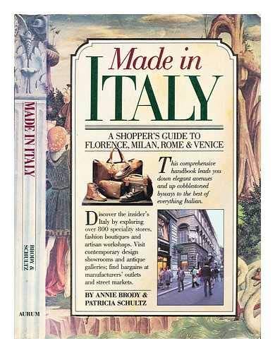 Made in Italy (9780948149962) by Brody; Schultz