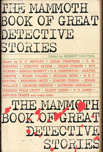 9780948164033: The Mammoth Book of Great Detective Stories