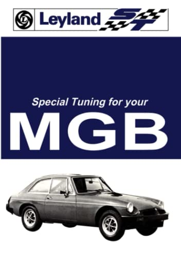 MG MGB Tourer and GT Tuning: Owners