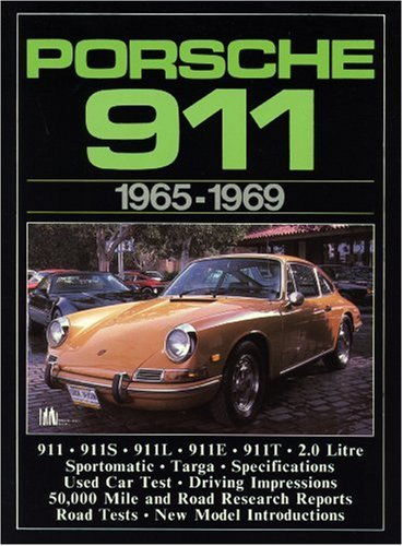 9780948207112: Porsche 911 1965-69 (Brooklands Road Tests)