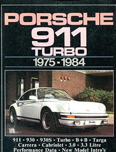 9780948207174: Porsche 911 Turbo 1975-84 (Brooklands Books Road Tests Series)